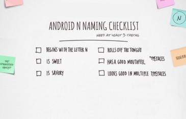 El nombre de Android N se desvelará en unas semanas