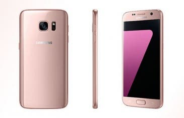 Samsung Galaxy S7 Edge rosa ya disponible en España