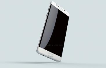 Aparecen nuevos renders del Samsung Galaxy Note 7 Edge