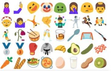 Estos son los 65 nuevos emojis de Android Q que ha añadido Google