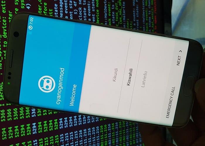 CyanogenMod Samsung Galaxy S7 Edge