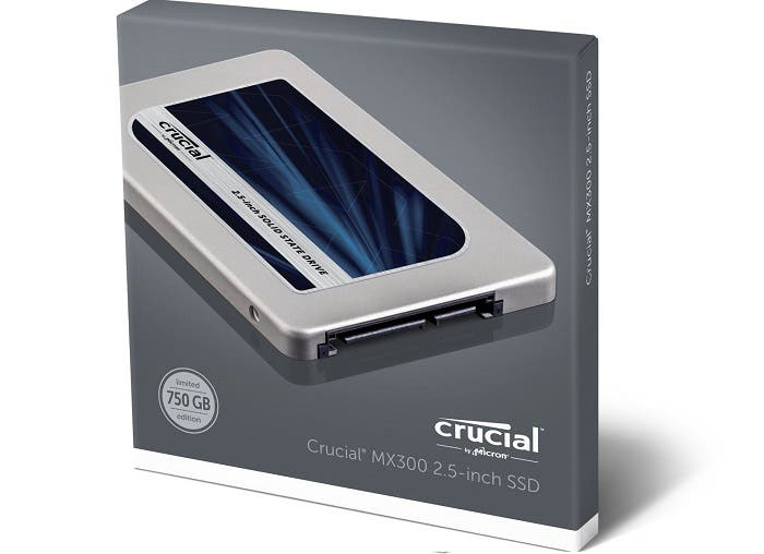 Disco Duro SSD 750 GB Crucial MX300