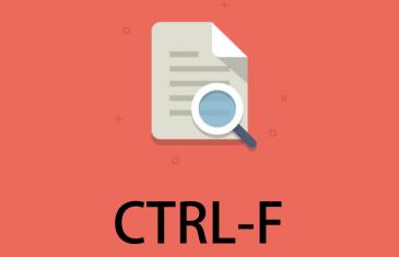 CTRL-F: una aplicación para escanear nuestros textos