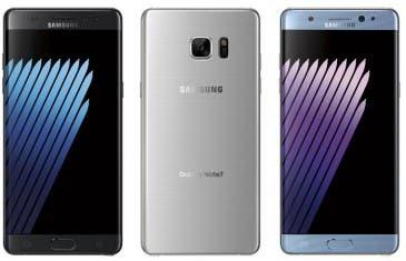 Se filtra un Samsung Galaxy Note 7 más recortado