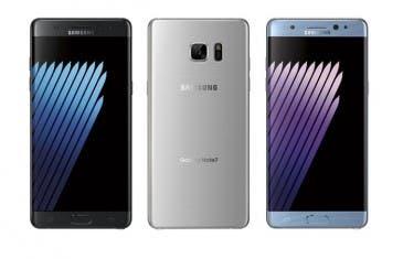 Samsung Galaxy Note 7, filtradas nuevas imágenes y sus colores