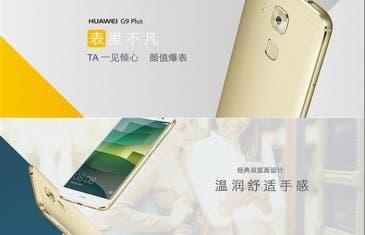Huawei G9 Plus es oficial con procesador Qualcomm