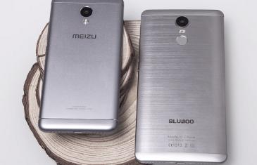 Bluboo Maya Max vs Meizu M3s: comparación en video