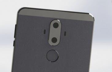 Nuevos renders del Huawei Mate 9 aparecen con doble cámara