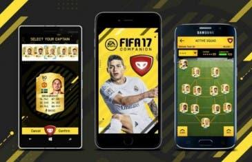 FIFA 17 Companion ya disponible: gestiona tu Ultimate Team desde el móvil