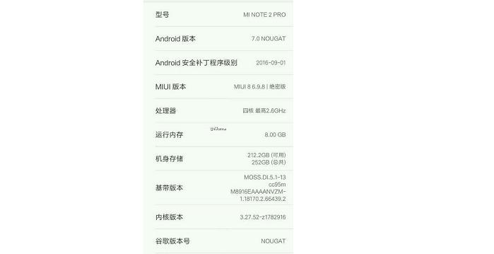 Xiaomi Foto Note 2