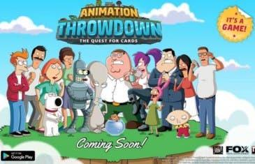 Animation Throwdown: el juego de cartas creado por FOX