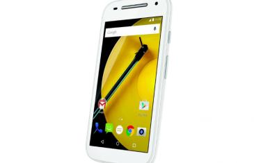 El Moto E de segunda generación recibe Android 7.0 Nougat