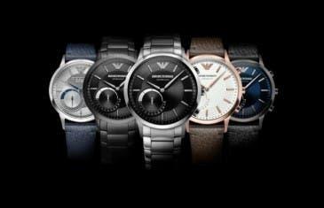 Emporio Armani lanza una colección de Smartwatch híbridos