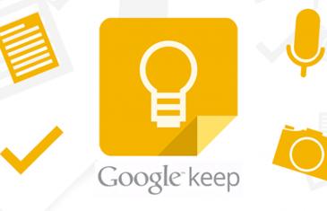 Novedades en Google Keep: ahora puedes fijar notas