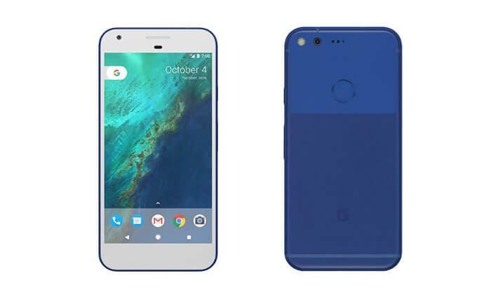Google-pixel-azul-