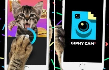 Giphy Cam, la aplicación perfecta para crear gifs con tu teléfono