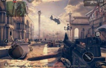 Modern Combat 4 por solo 50 céntimos en Google Play