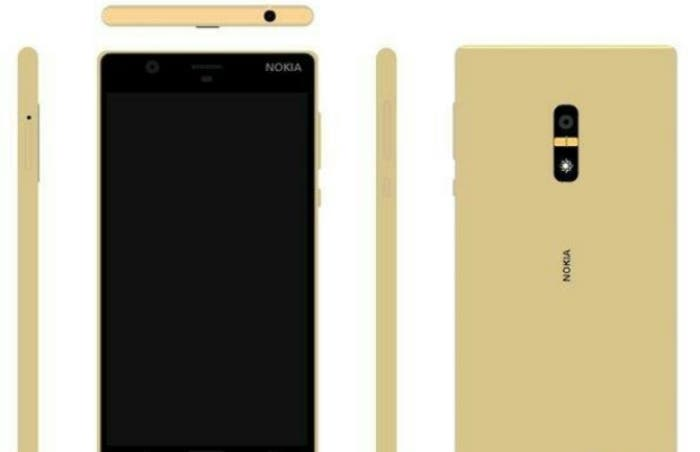 Nokia-D1C-in-Golsd-with-a-fingerprint-scanner-on-the-back