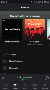 Spotifys-redesigned-interface