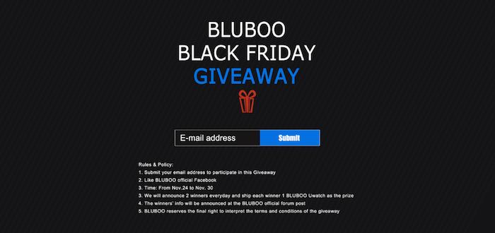 bluboo giveaway