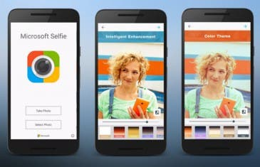 Microsoft Selfie por fin está disponible para Android