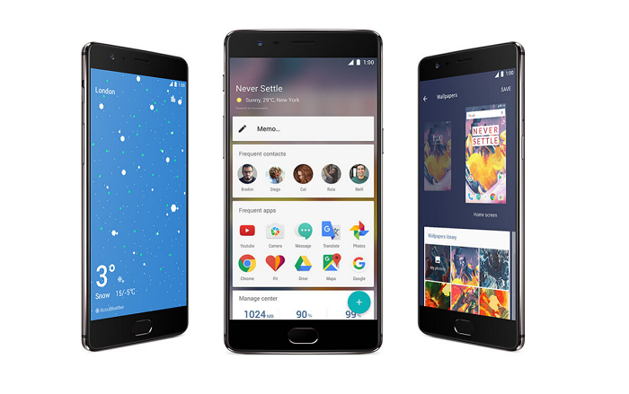 oNEplus3t software