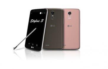 LG Stylus 3: se renueva el smartphone con lápiz óptico de LG