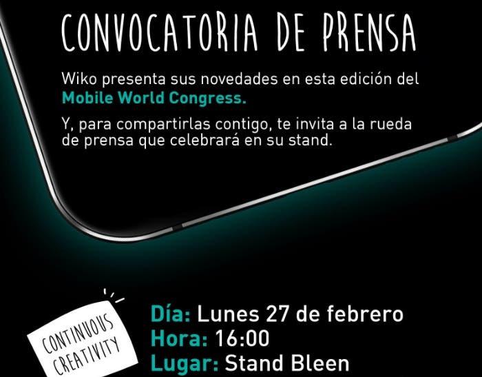 MWC2017_Wiko_Convocatoria_prensa