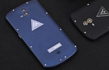 AGM X1 es el primer smartphone robusto con doble cámara
