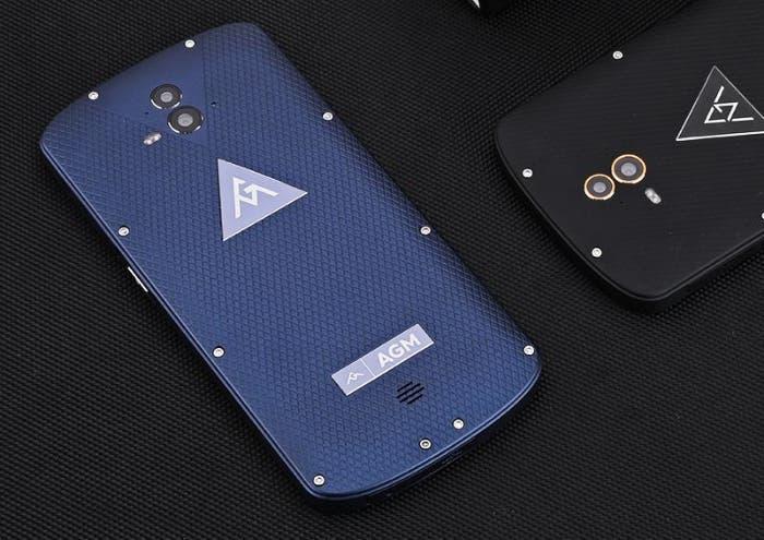 agm-x1-rugged-smartphone-dual-camera-ip68-octa-core-cpu-5400mah-4gb-ram-otg-quick-charge-64gb-memory-blue