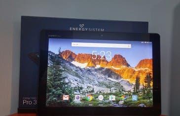 Primeras impresiones de la Energy Tablet Pro 3