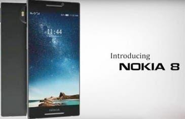 Nokia 8 se filtra con un diseño espectacular