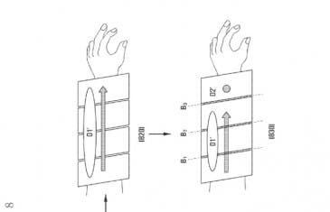 Esta nueva patente de Samsung nos revela un supuesto smartphone brazalete