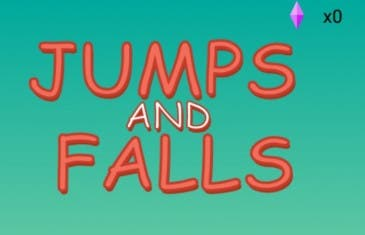 Jumps and Falls, otro juego muy sencillo y frustrante a la vez