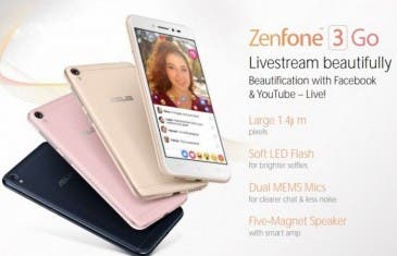 Se filtra el próximo Asus Zenfone 3 Go