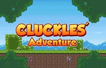 Cluckles Adventure es un juego de plataformas donde serás una gallina con espada