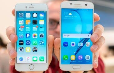 La telefonía móvil cada vez más encaminada a los paneles OLED de Samsung