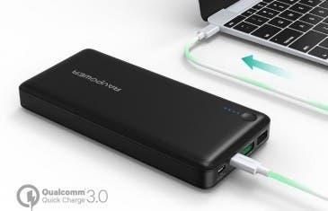 ¿Quieres una batería externa con USB Type-C? Estas son 2 buenas opciones