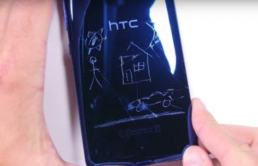 Así de quebradizo es el nuevo HTC U Ultra