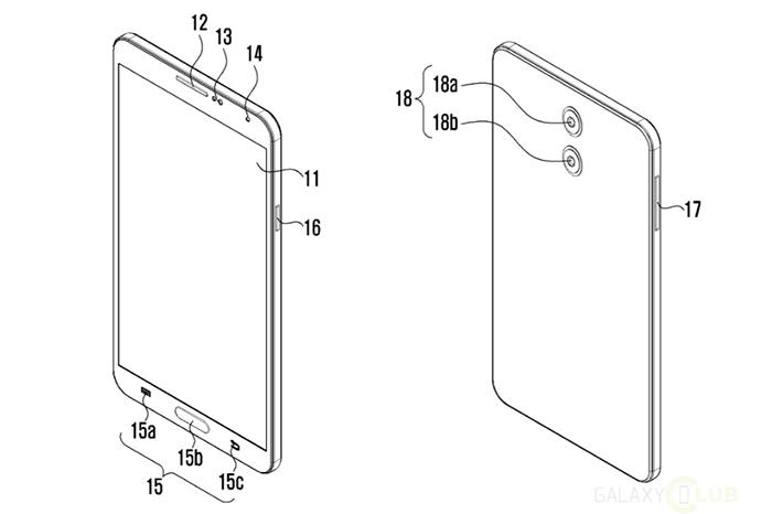 Móvil de Samsung con doble cámara