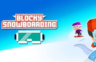Blocky Snowboarding, un juego de snow diferente y adictivo