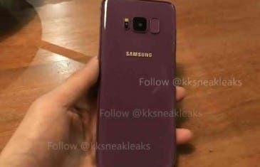 Samsung Galaxy S8 se filtra en color morado
