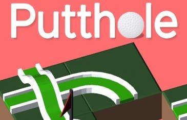 Putthole, un juego bastante adictivo que no es de golf