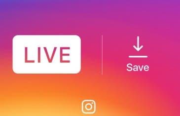 Los directos de Instagram ya se pueden guardar en el móvil