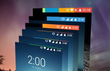 Personaliza la barra de notificaciones con el estado de tu batería