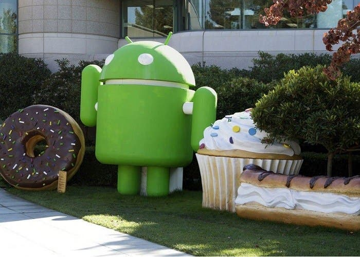 Android en abril