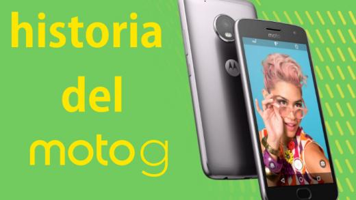 Repasamos la historia del Motorola Moto G