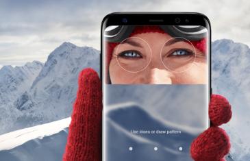 El escáner de iris del Samsung Galaxy S8 podría servir para realizar pagos bancarios