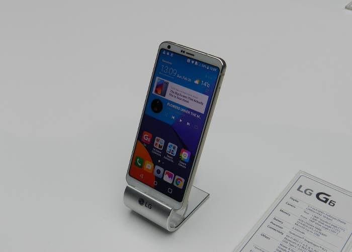 Test de resistencia del LG G6