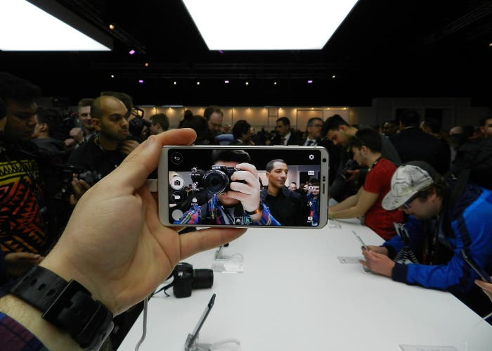 pantalla del LG G6